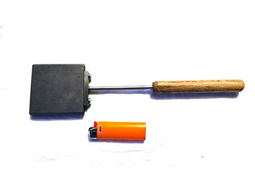 "3"" x 3"" Paddle - glass sculpting tool"