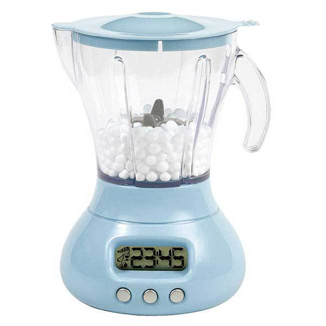 Blue Blender Cool Alarm Clock
