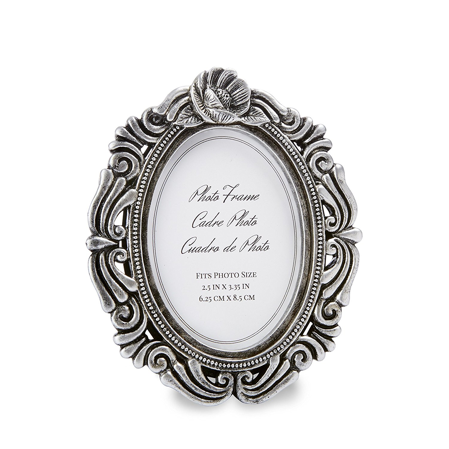 Kate Aspen Antiqued Victorian Photo Frame