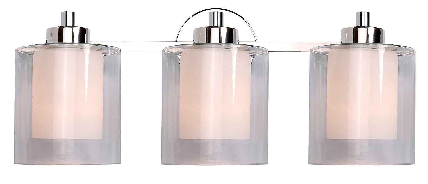Kenroy Home 93493PN Orienta 3 Light Vanity