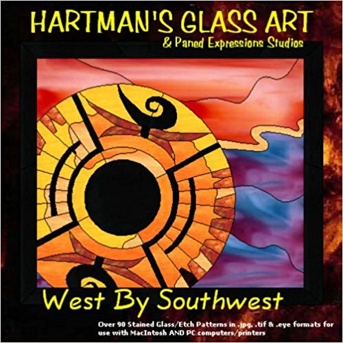 "Stained Glass Pattern Collection - ""West By Southwest"""