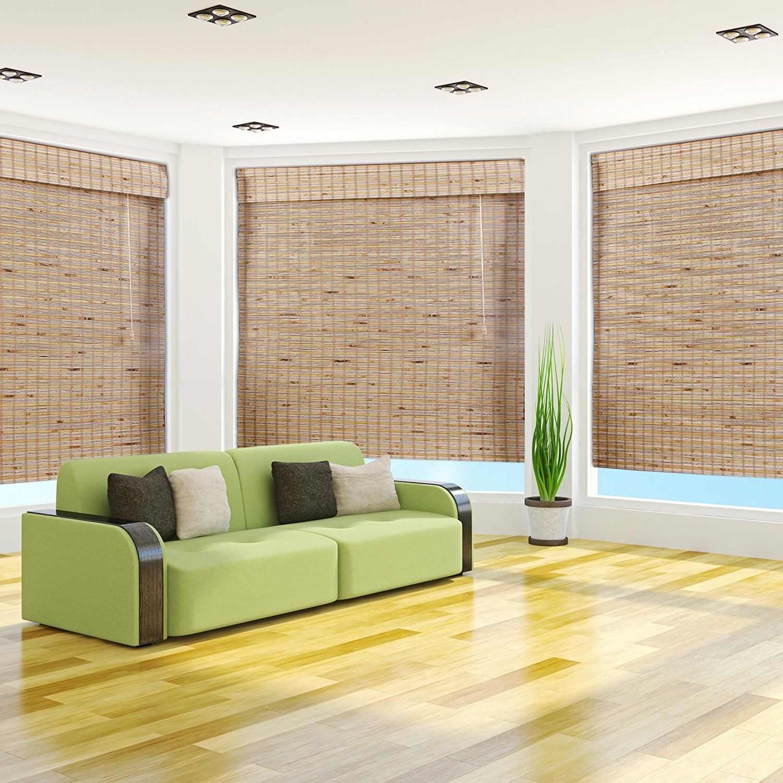 Mandelhi Bamboo Roman Shade, 16x54