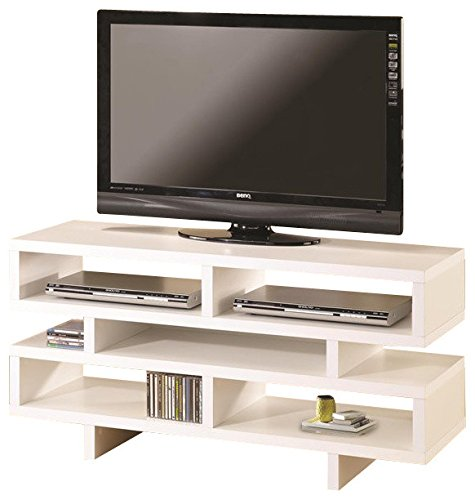 Coaster Home Furnishings 700721 Contemporary TV Console, White