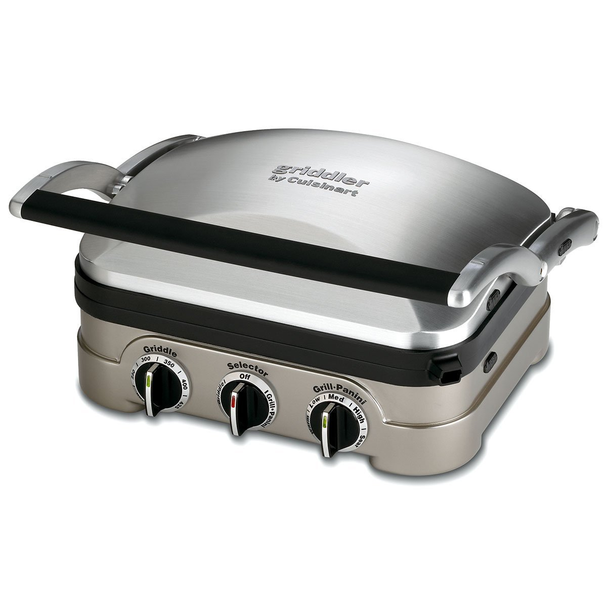 Cuisinart Gourmet GR-4N 5-in-1 Griddle Griddler Panini Sandwich Press