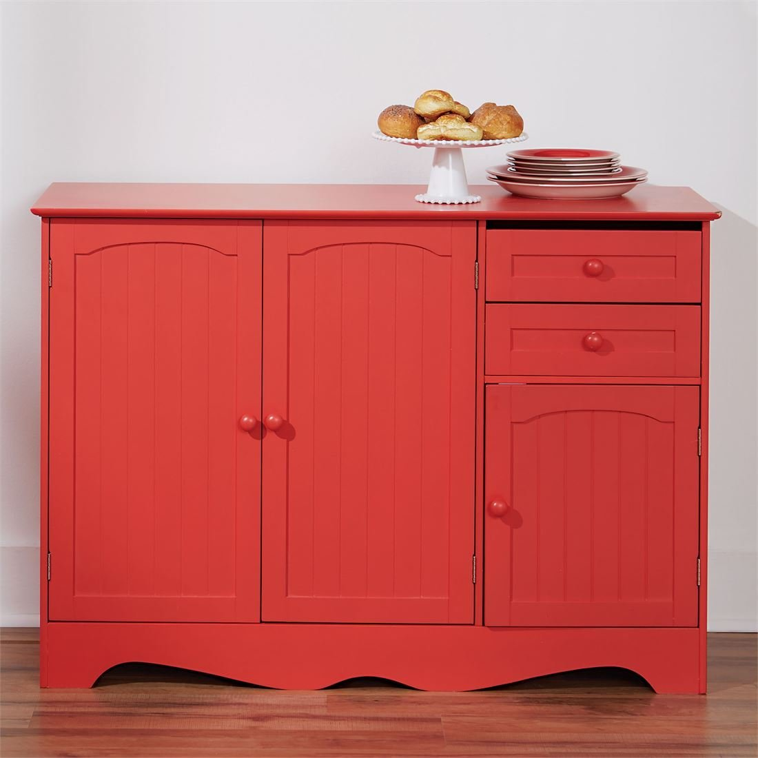 Red Kitchen Cabinets: Making A Bold Statement