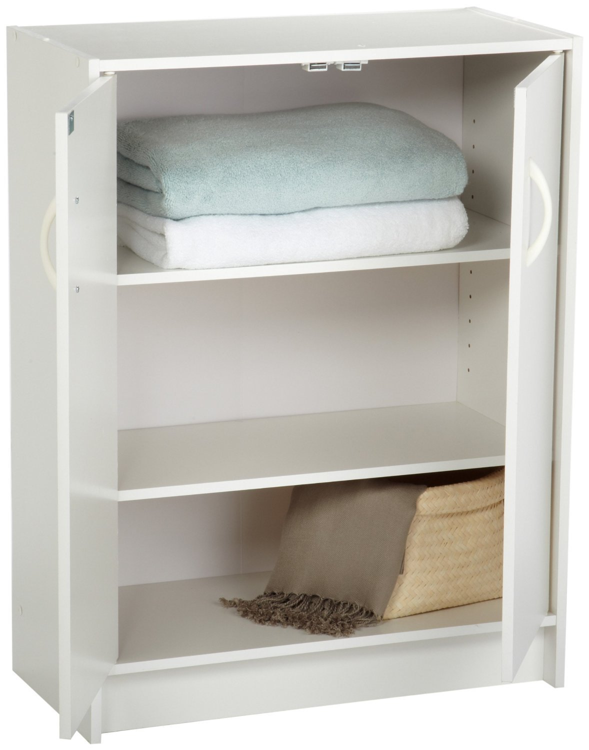 ClosetMaid 8982 Stackable 2-Door Organizer, White