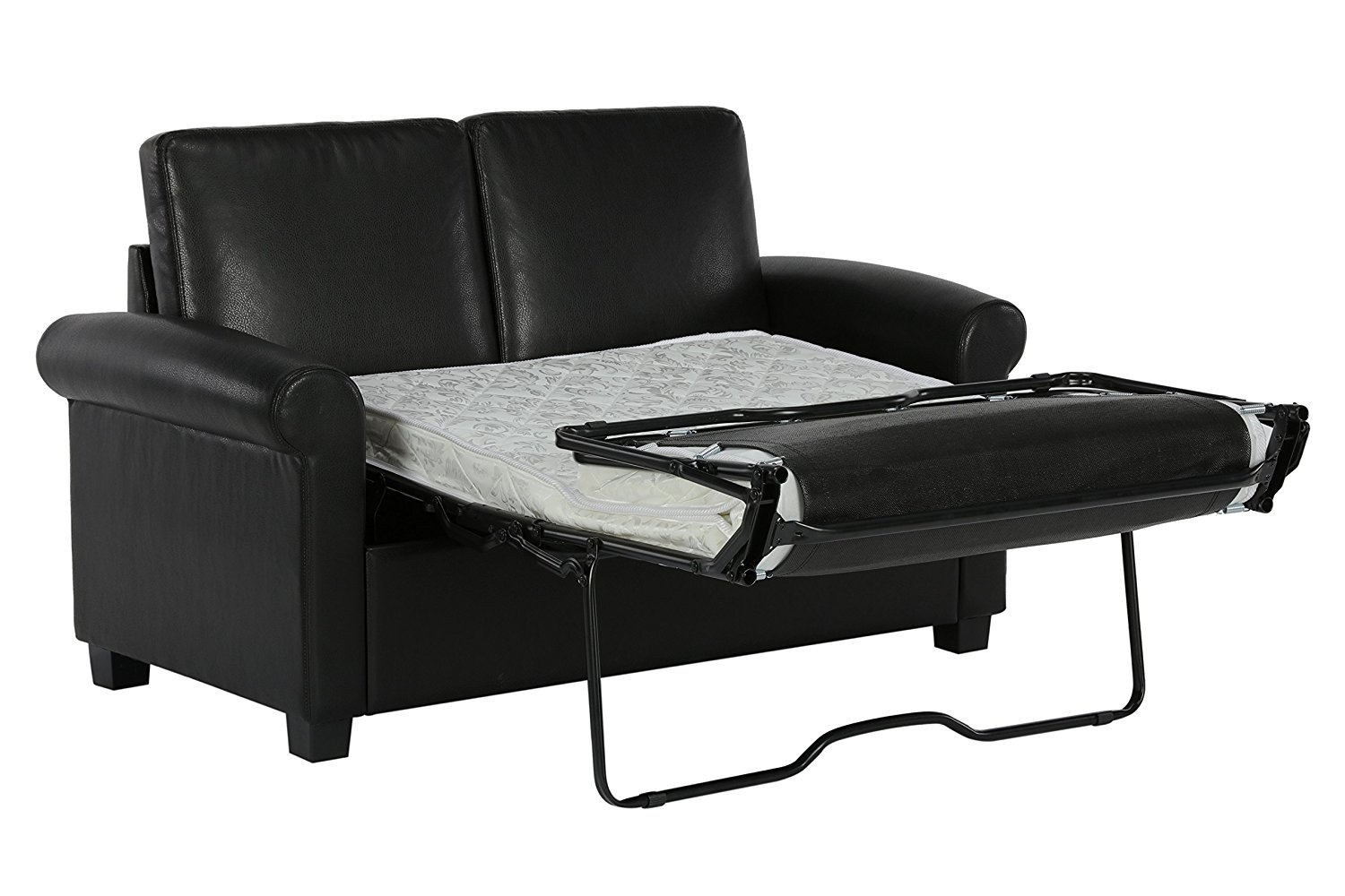 A Leather Sleeper Sofa Convenience Comfort And Class