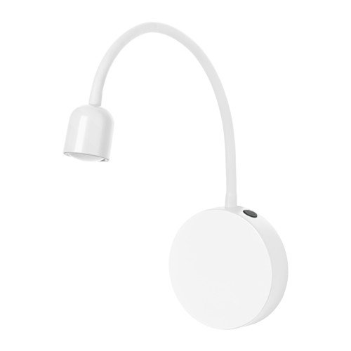 Ikea BLÅVIK LED wall lamp, battery operated (White)