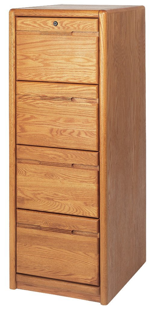 Kathy Ireland Home By Martin Contemporary 4 Drawer File Cabinet, Fully Assembled