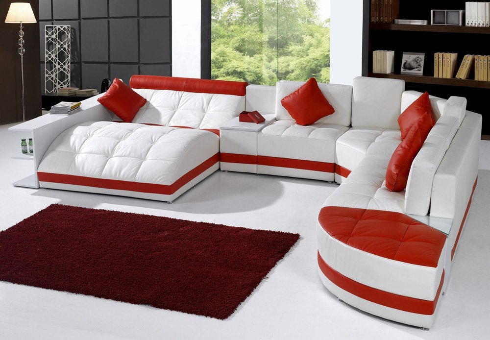 Miami Contemporary Sectional Sofa