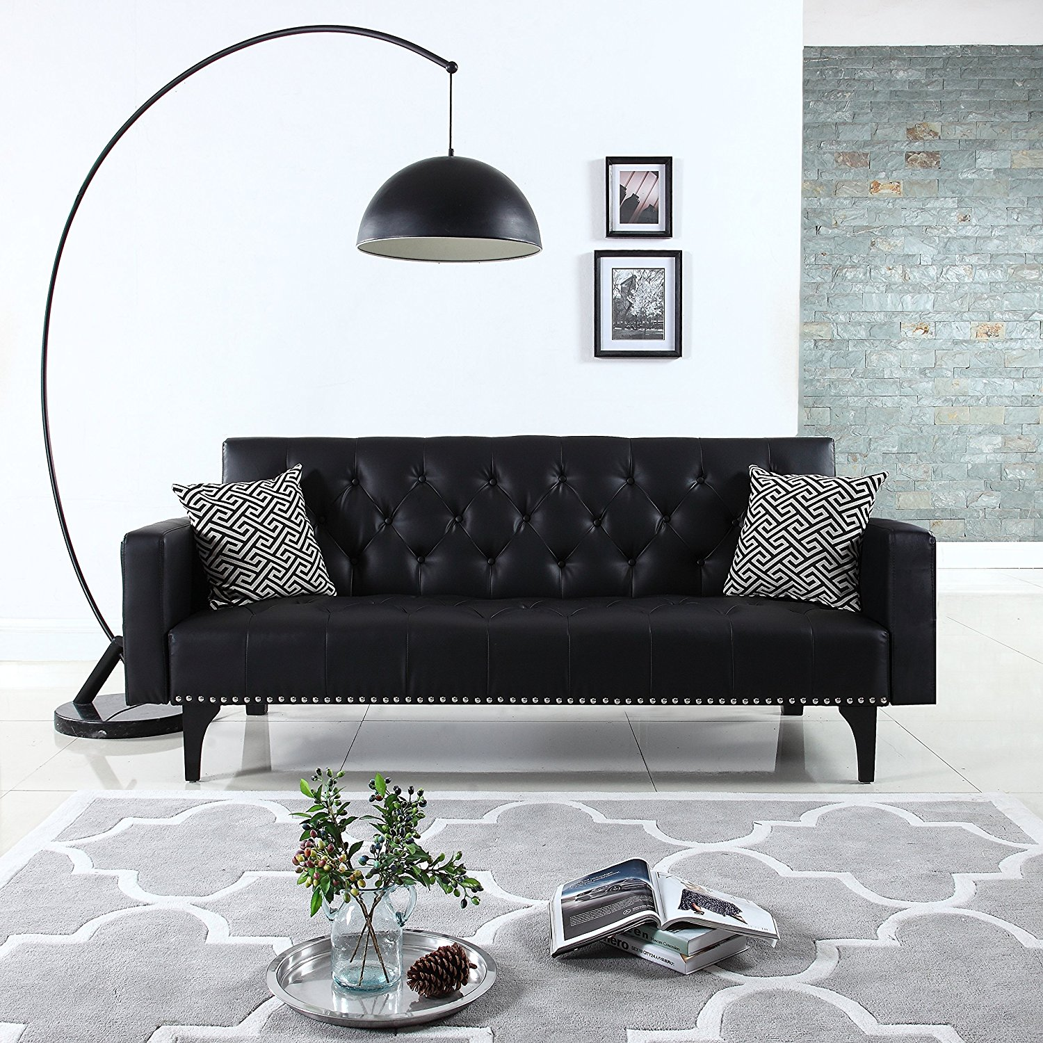 A Black Leather Couch – A Unique Furniture Piece