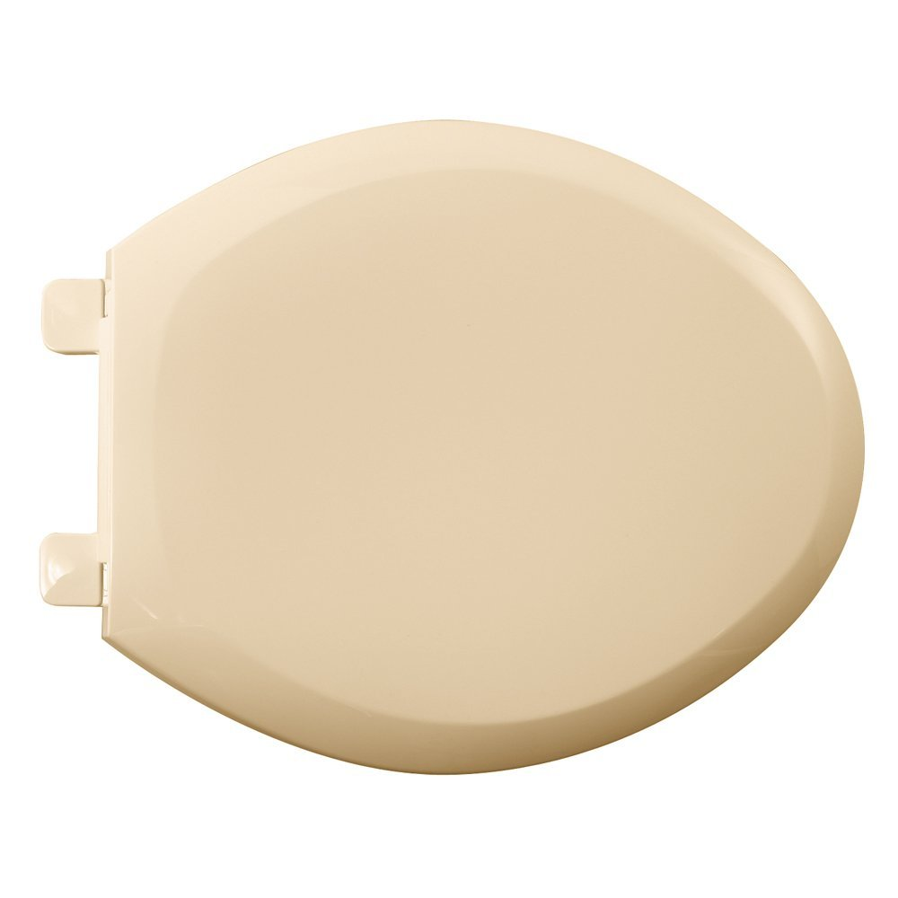 American Standard 5350.110.021 Cadet-3 Elongated Slow Close Toilet Seat with EverClean Surface, Bone