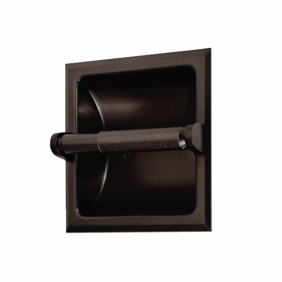 Recessed toilet paper holder from gatco cool ideas for home - Ceramic recessed toilet roll holder ...