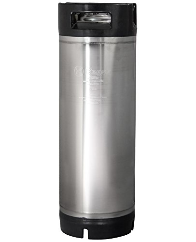 Kegco 5 Gallon Ball Lock Keg - RubberHandle