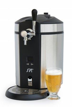 SPT BD-0538 Mini Kegerator & Dispenser, Stainless Steel