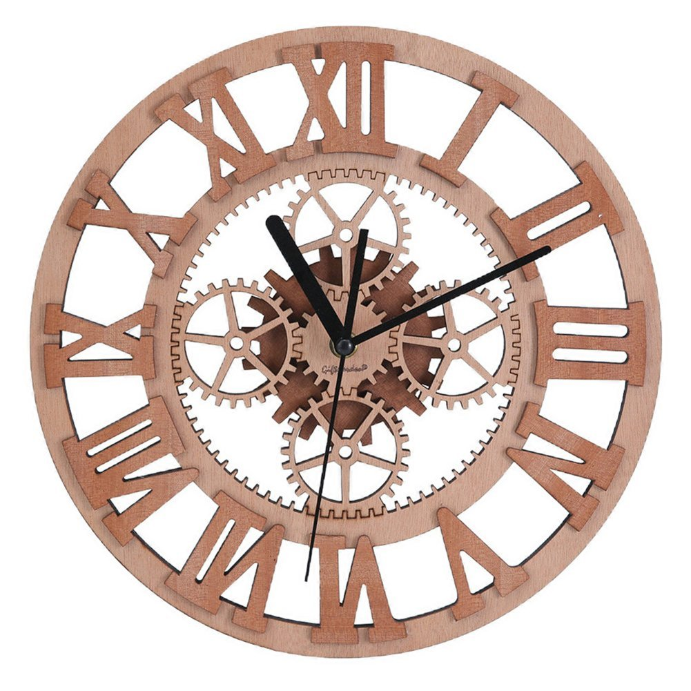 wooden gear clock build a craftsmen 39 s fine project. Black Bedroom Furniture Sets. Home Design Ideas