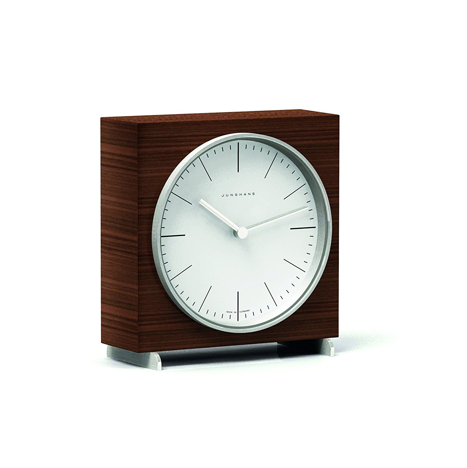 Junghans Max Bill Quartz Table Clock | White 363/2210.00