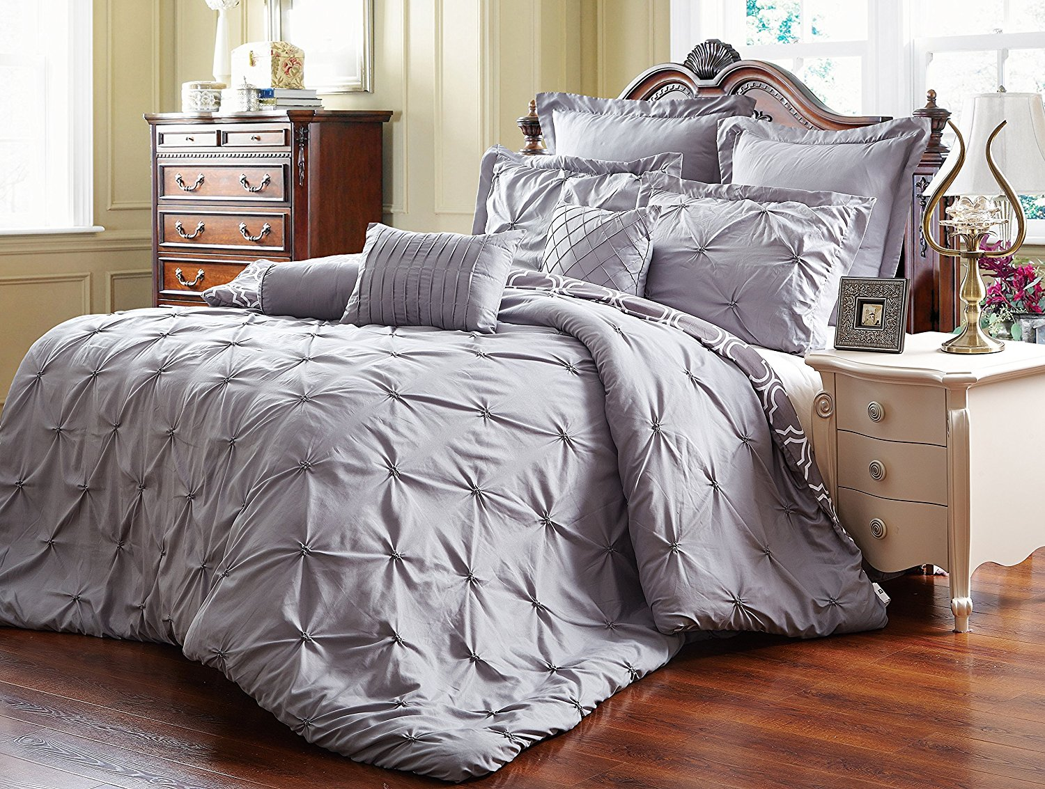 microsuede stiped bedding ideas corner striped pattern bed shams california quilt comfy cal color old blue about zq material with skirt king on noble