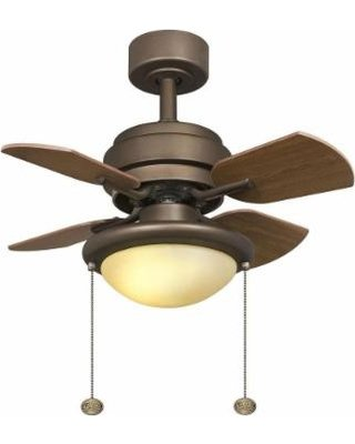 Hampton Bay Metarie 24 In. Oil Rubbed Bronze Ceiling Fan