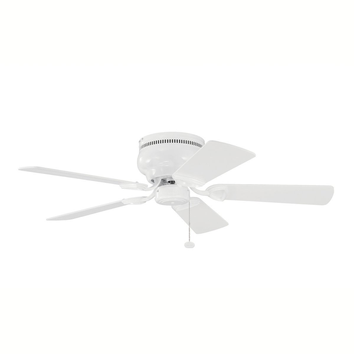"Kichler 339017WH, Stratmoor, Ceiling Fan, 42"" Span, White"