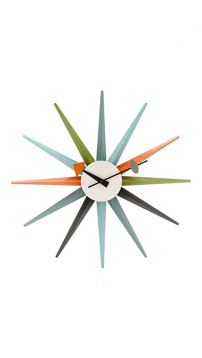 Vitra Men's George Nelson Sunburst Clock