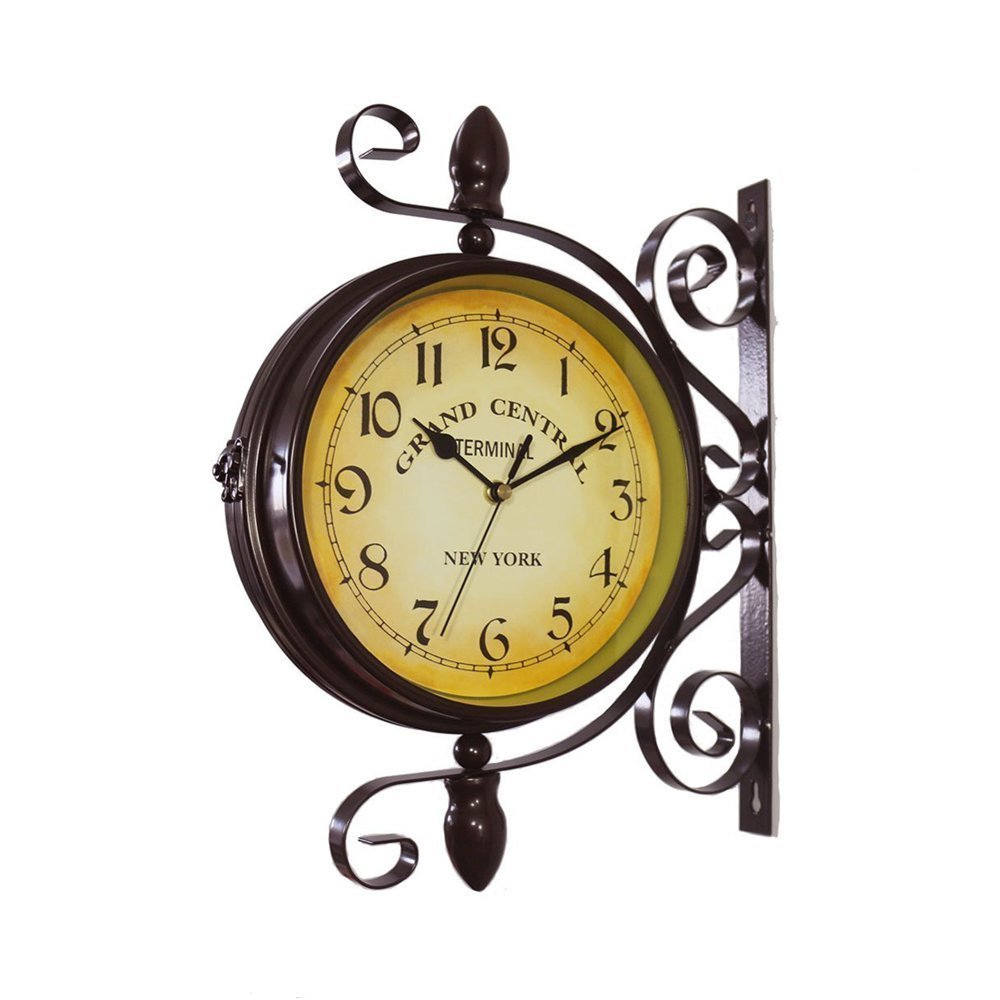 How a Train Station Clock Enhancing the Feel of Your Place | Cool ...