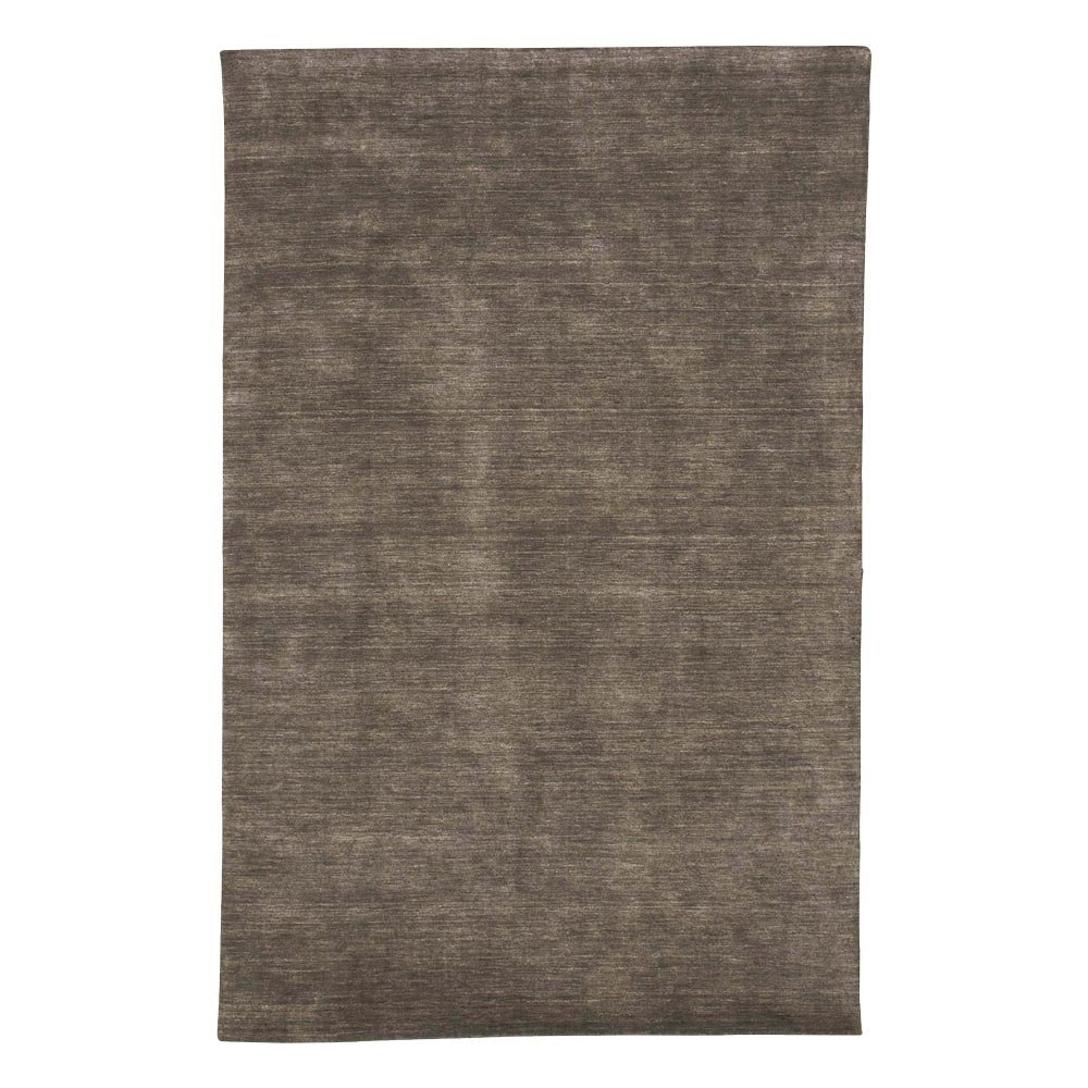 "Ethan Allen Loomed Wool Rug, Charcoal, 5'6"" x 8'6"""