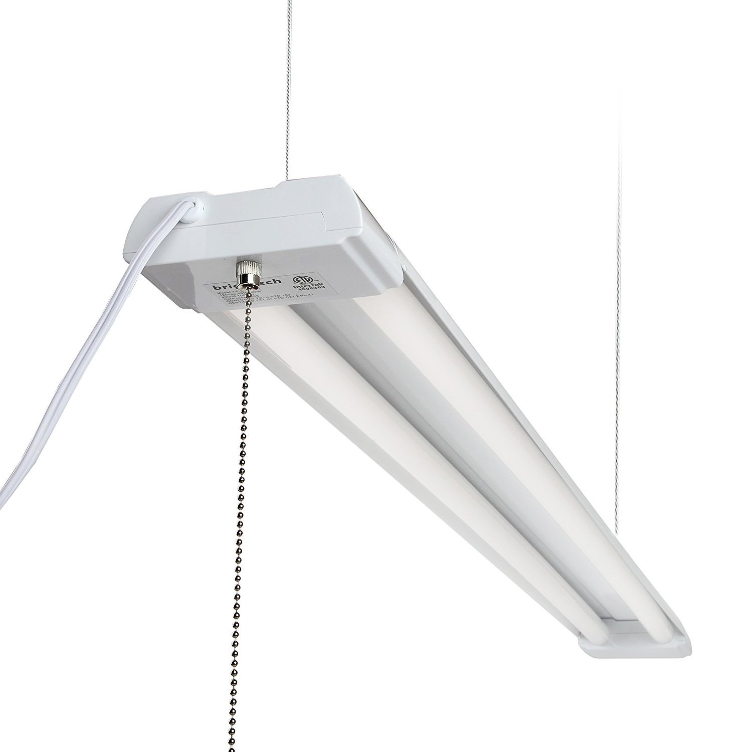 Brightech – LightPRO LED Shop Light – Installs Above Workbenches – More Energy-Efficient than Fluorescent Overhead Lighting – 40-Watt LED Equivalent to 100-Watt Brightness