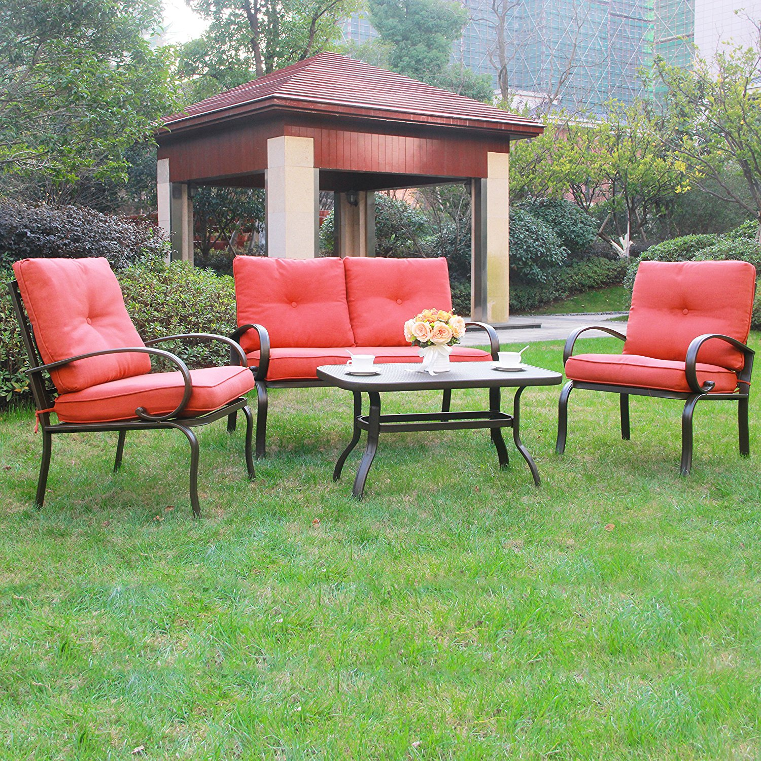 Wrought Iron Patio Furniture For Home Backyard Cool