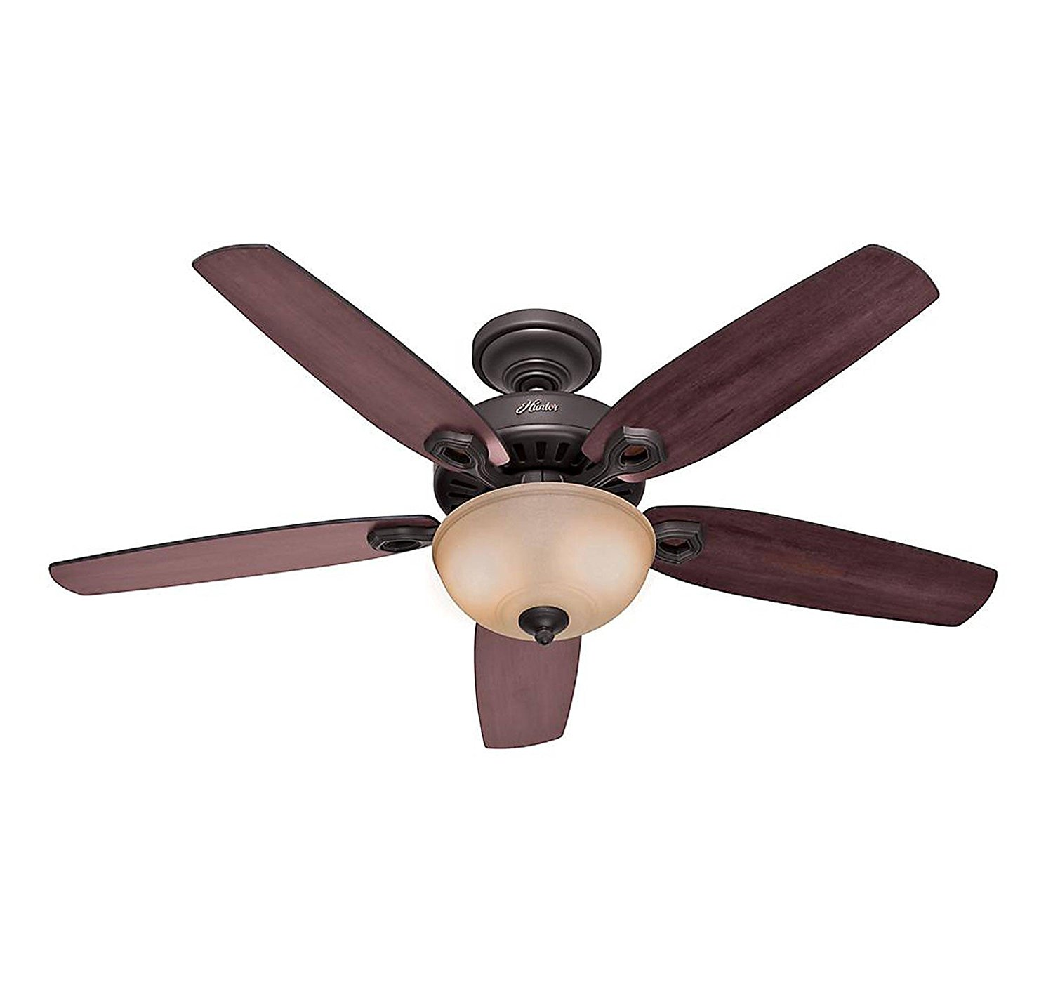 Hunter Fan Company Builder Great Room New Bronze Ceiling: Quiet Ceiling Fans With Lights - Decorative Design