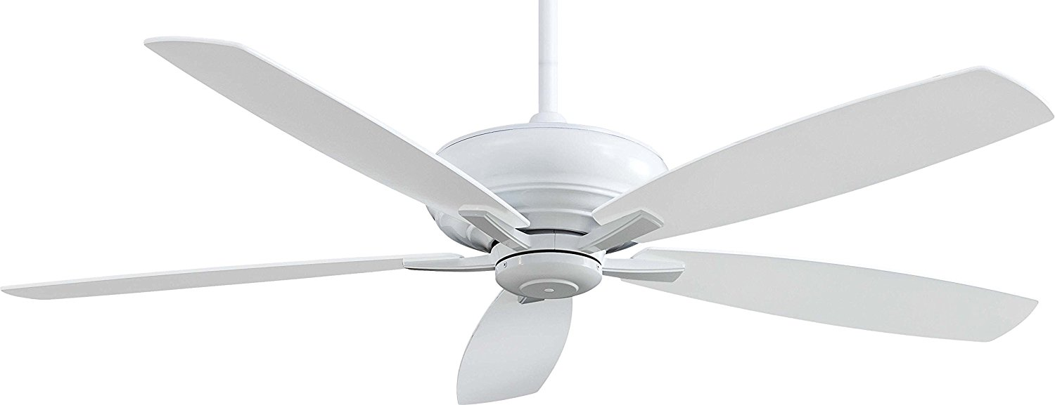 "Minka-Aire F689-WH, Kola-XL, 60"" Ceiling Fan with Remote Control, White"