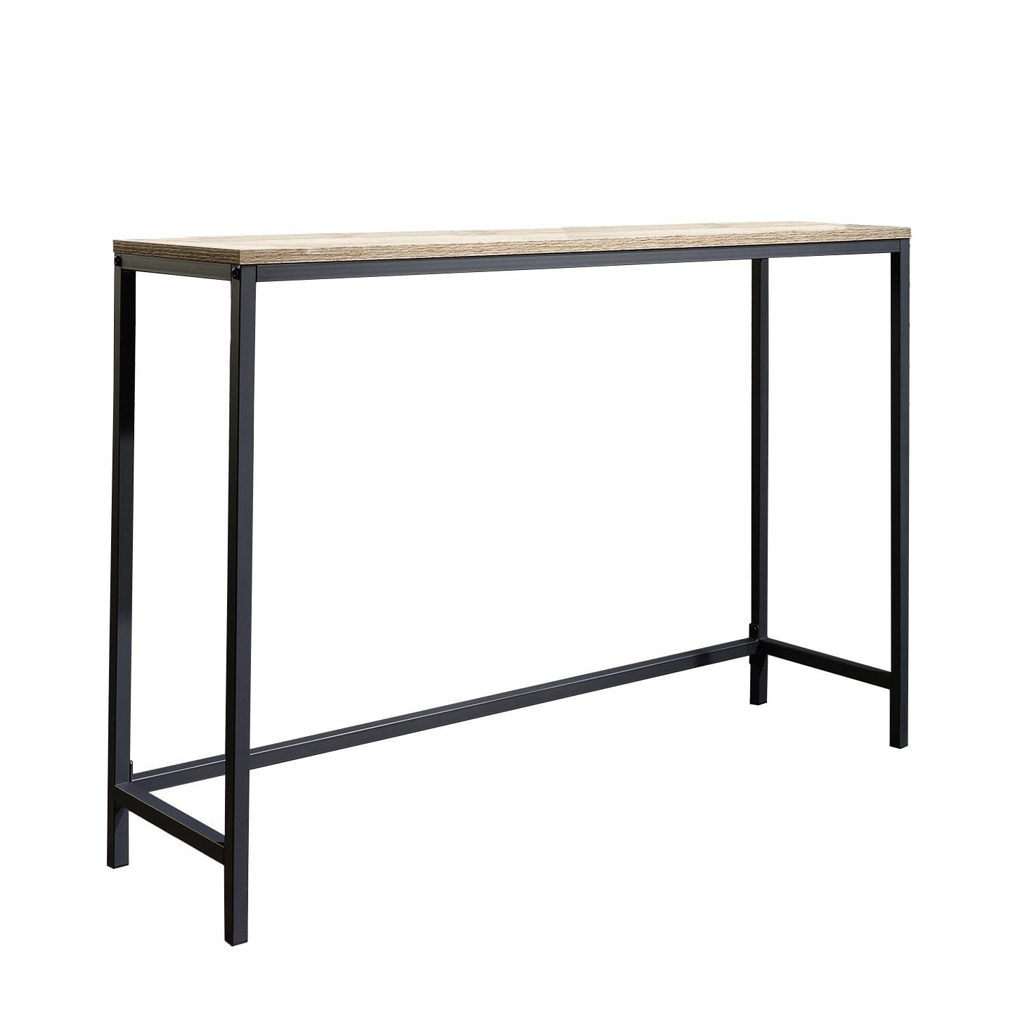 Sauder North Avenue Console Table In Charter Oak