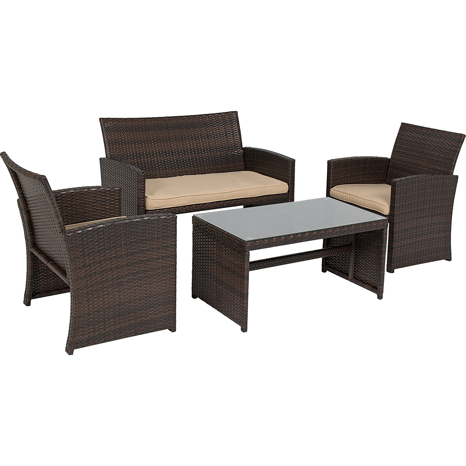 Resin Wicker Patio Furniture Nice Outdoor Addition Cool Ideas For Home