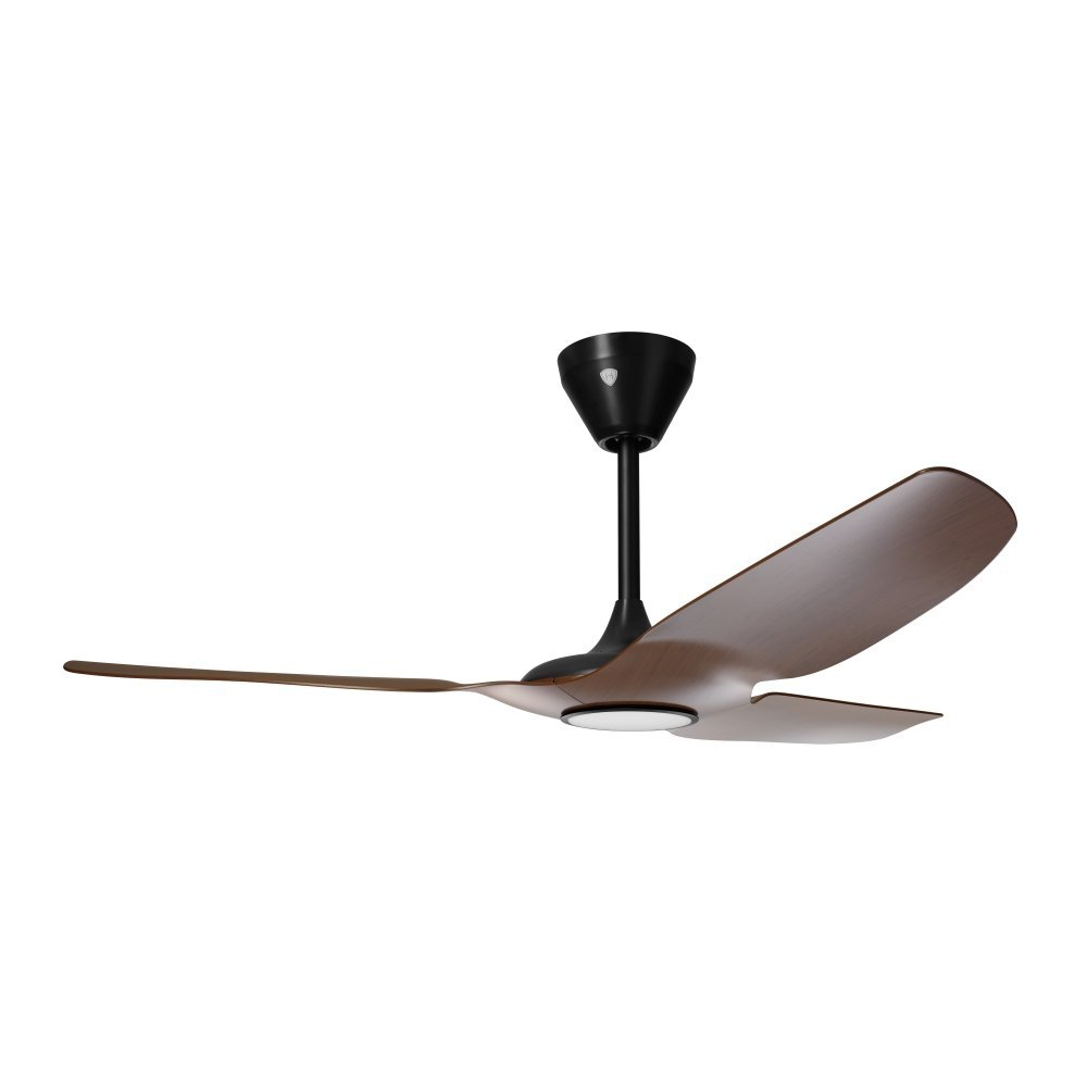 Haiku Home L Series Indoor, Wi-Fi Enabled Ceiling Fan with Led Light, Works with Alexa, Cocoa/Black