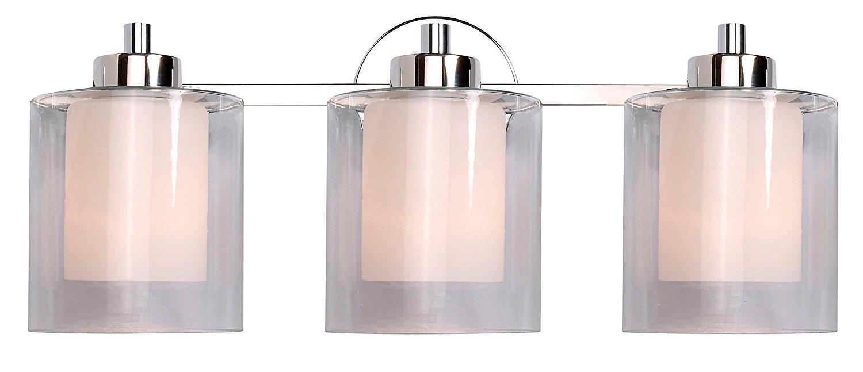Kenroy Home 93493PN Orienta 3 Light Vanity