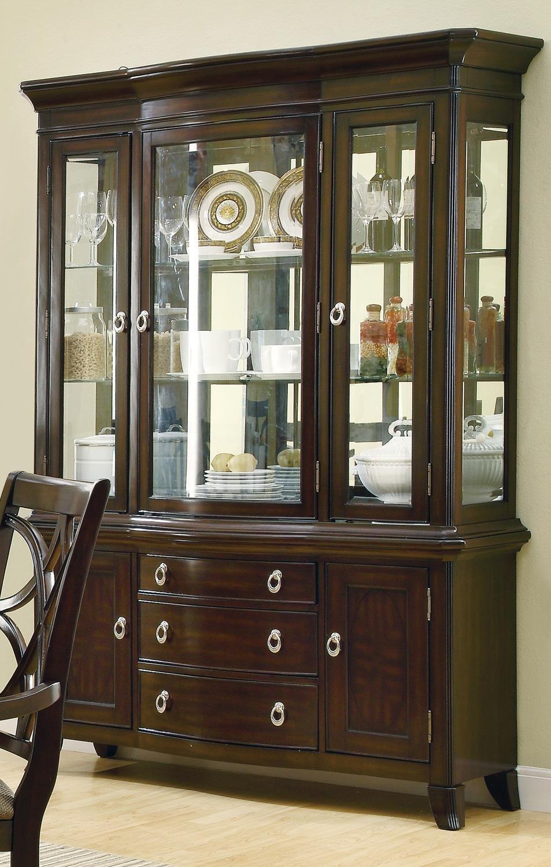 Coaster Home Furnishings 103534H Contemporary Hutch, Espresso