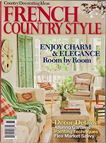 Country Decorating Ideas Magazine #185 French Country Style 2016