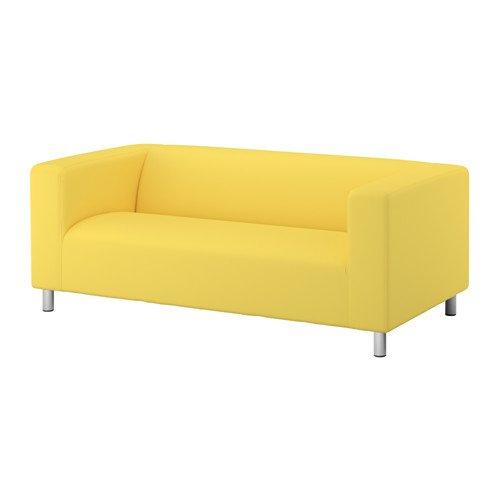 Ikea Klippan Slipcover Vissle Yellow Klippan Sofa Loveseat Cover Removable New