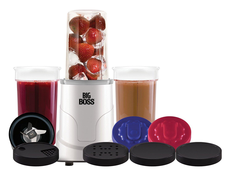Big Boss 15-Piece Hi Speed 300-Watt Personal Countertop Blender Mixing System