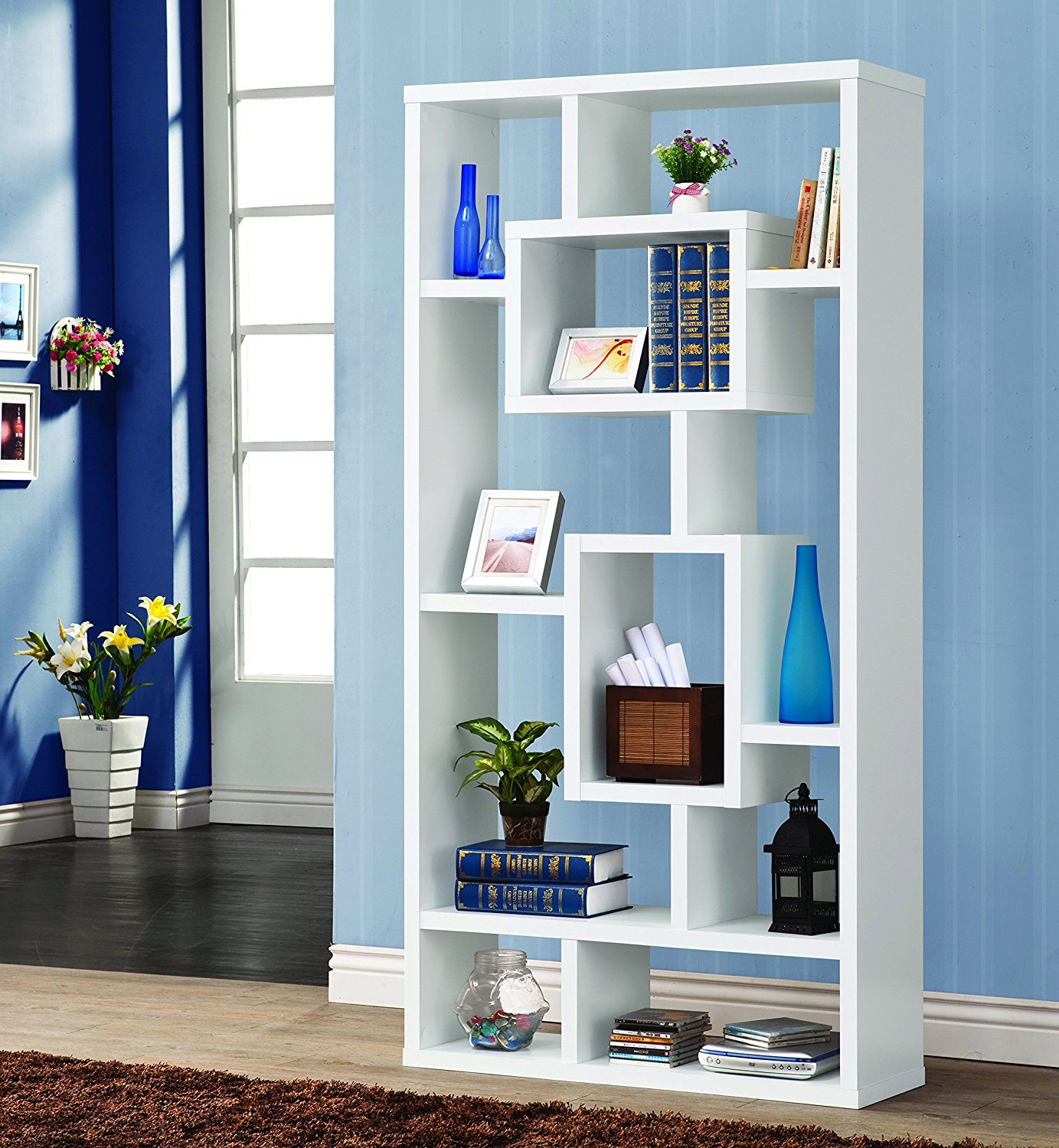 Coaster Home Furnishings 800157 Casual Bookcase, White