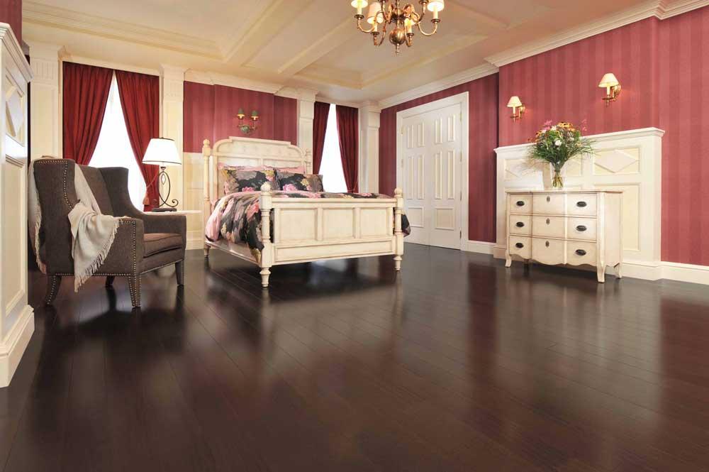 African Onyx Black Mahogany Flooring