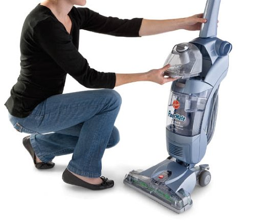 Hoover Hardwood Floor Cleaner FloorMate SpinScrub with Bonus Hard Floor Wipes Corded Bare Floor Cleaner FH40010B