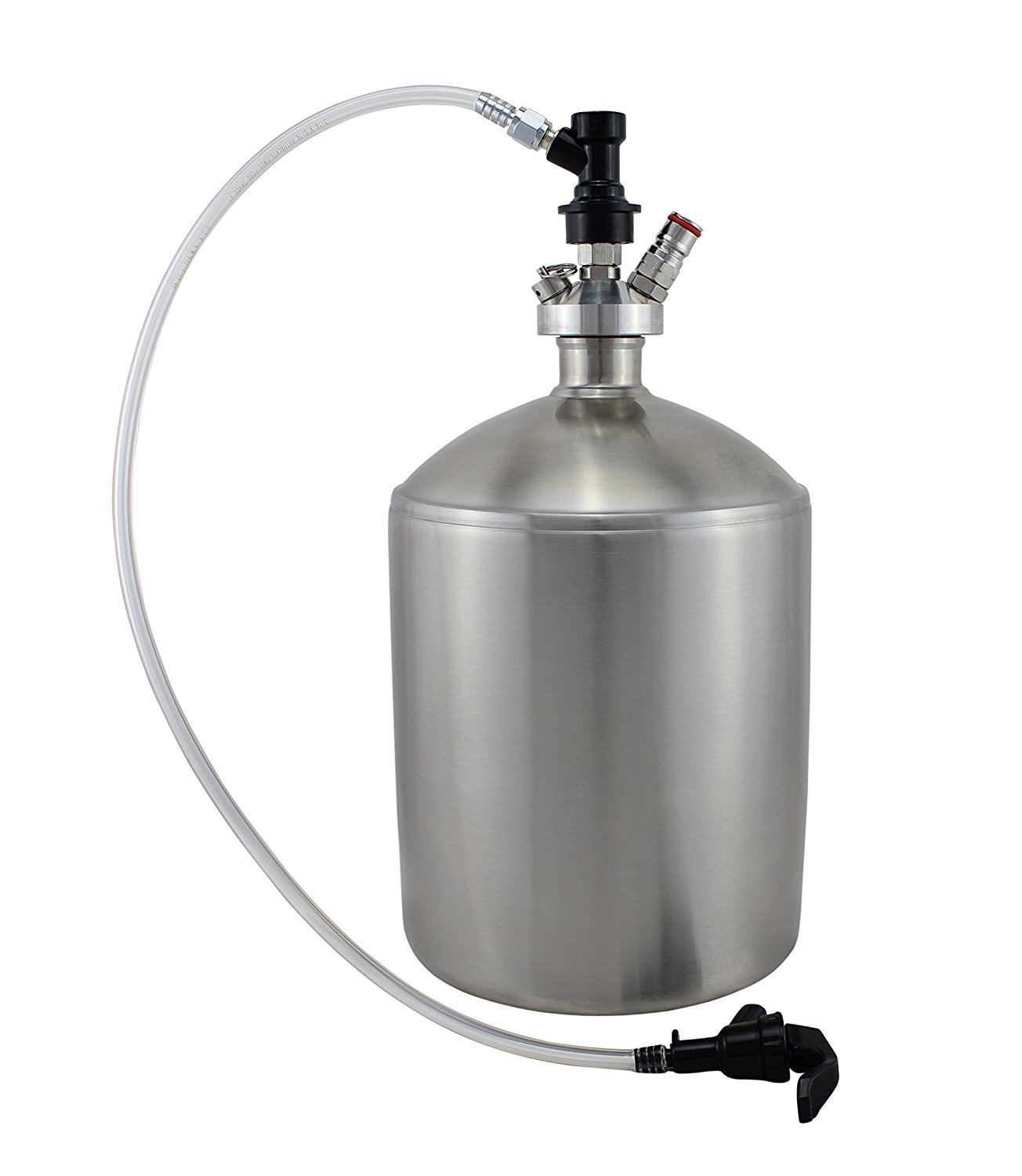 5L Mini Keg with Ball Lock Tapping System by The Weekend Brewer