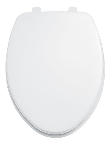 American Standard 5311.012.020 Laurel Elongated Toilet Seat with Cover, White
