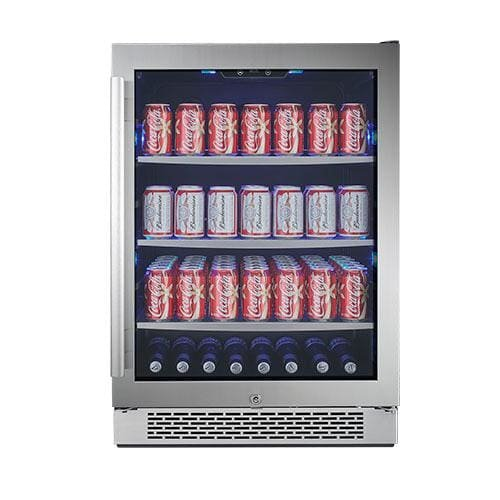"""Avallon ABR241SGRH 152 Can 24"""" Built-In Beverage Cooler - Right Hinge"""