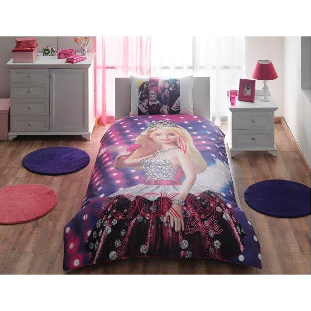 Barbie Rock'n Royal, Bedding Duvet Cover Set, Single / Twin