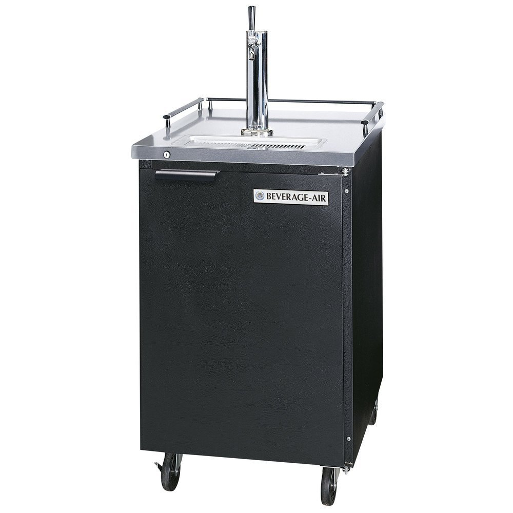 Beverage Air Bm23-b 7. 8 Cu. Ft. Beer Dispenser - Stainless Steel Top / Black Cabinet