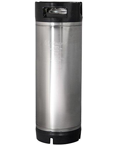 Kegco 5 Gallon Ball Lock Keg - RubberHandle