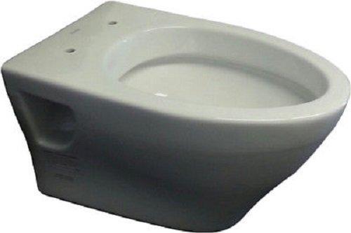 Toto CT418FGNo.01 Aquia Wall-Hung Dual-Flush Toilet, 1.6-GPF and 0.9-GPF Cotton