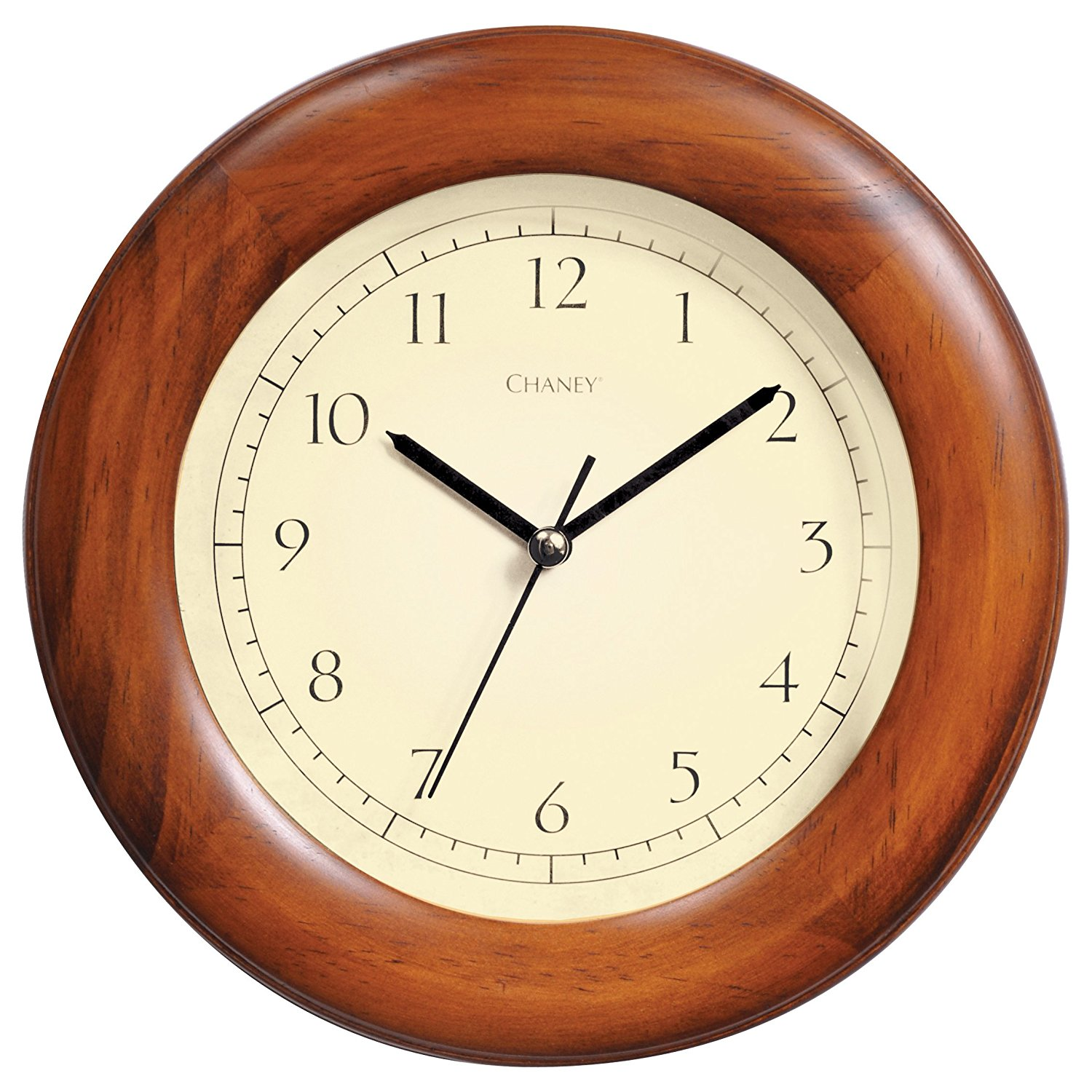 Chaney 75171 Poplar Wood Wall Clock, 8""